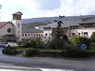 Sabiñánigo - Main Square, Town Hall and Church