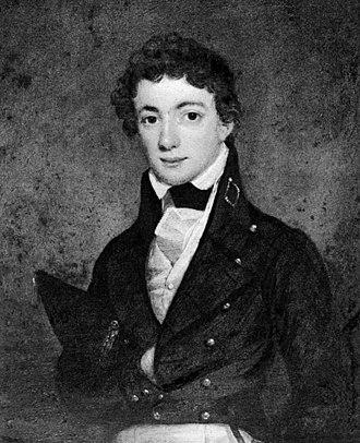 Samuel Francis Du Pont - Painting of Du Pont as a midshipman
