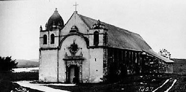 San Carlos Borromeo de Carmelo circa 1910 William Amos Haines
