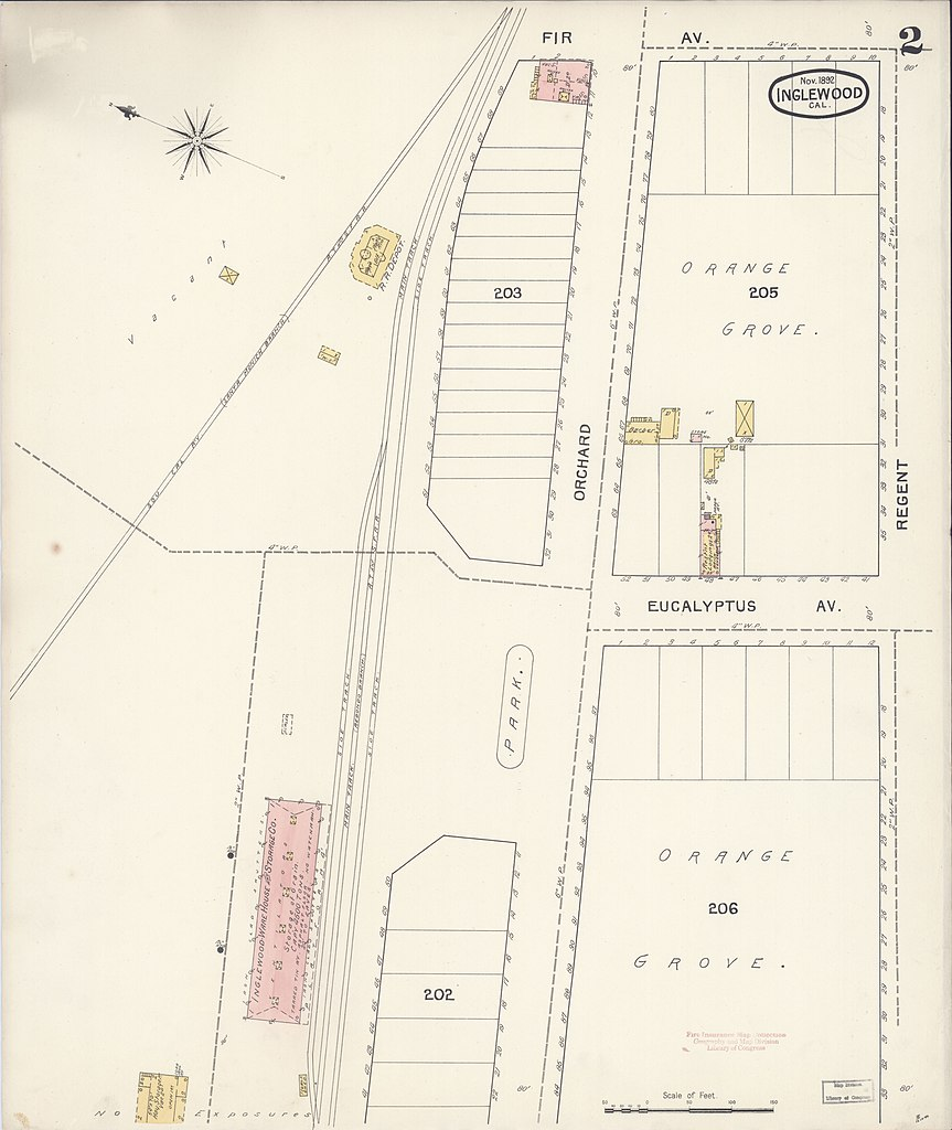 File:Sanborn Fire Insurance Map from Inglewood, Los Angeles ...