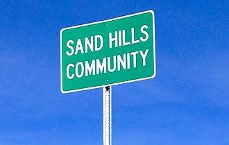 Sand Hills, Florida - Sand Hills Sign
