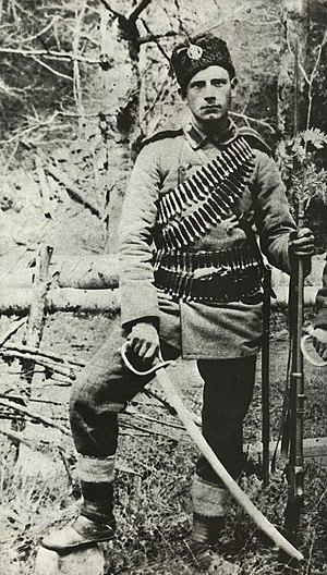 Yane Sandanski - Yané Sandansky as a conscript in the Bulgarian Army
