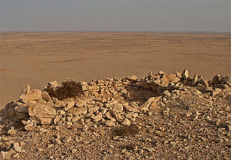 Sangar (fortification) - Sangar from the Western Sahara conflict probably dating from the 1980s