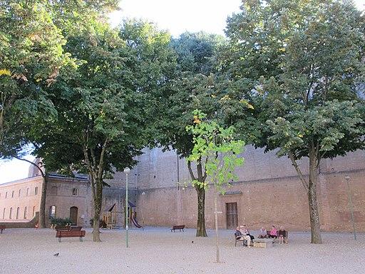 Sant'Agostino, Siena, esterno