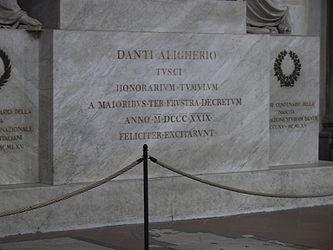 Santa Croce Alighieri cenotaph 2.jpg