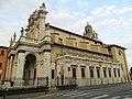 Santuario della Beata Vergine del Santo Rosario (Fontevivo) - lato sud 2019-10-01.jpg