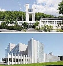 上:芸術の森キャンパス 下:桑園キャンパス
