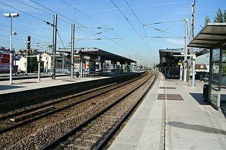 Sartrouville station - Platforms