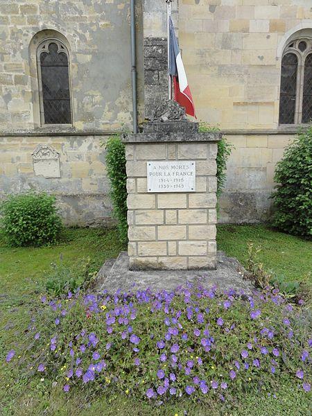 Saudrupt (Meuse) monument aux morts