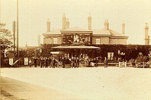 East Suffolk line - Saxmundham Station circa 1901
