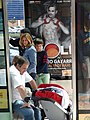 Scene at Bus Stop - Pamplona - Navarra - Spain (14420101838).jpg