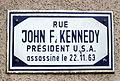 Schëld Rue John F. Kennedy, Déifferdeng.jpg
