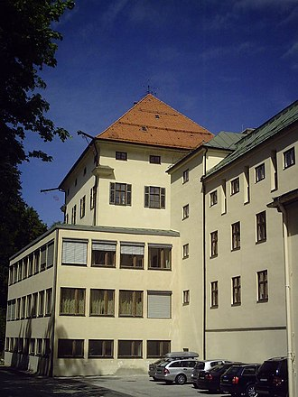 Schloss Hohenburg - Classroom extension on south side