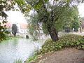 Schloss Glücksburg Graben mit Brücke.jpg
