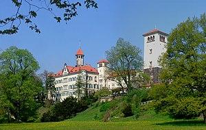 Schönburg family - Image: Schloss Waldenburg (Sachsen)