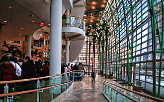 Schuster Performing Arts Center - The Wintergarden Lobby