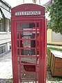 Schwäbisch Hall Jul 2012 31 (telephone booth in the Altstadt).JPG