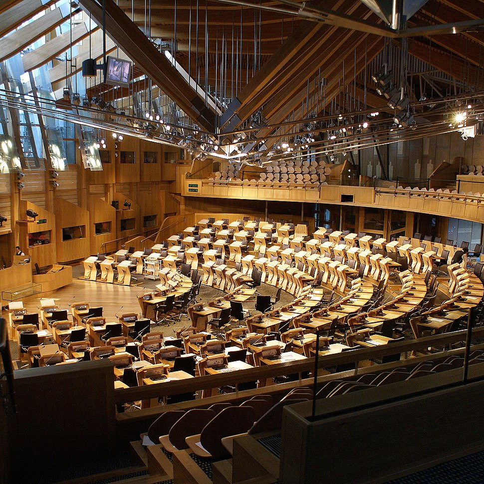 Scotland Parliament Holyrood