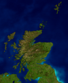 Scotland locator map - equidistant cylindrical blue marble stretched 150percent vertically.png