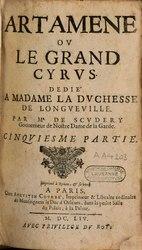 Artamène ou le Grand Cyrus