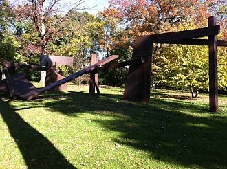 Green Bay Trail - The Green Bay Trail has examples of art along the line