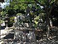 Sculpture of horse in Miyajidake Shrine 2.JPG