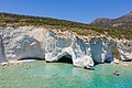 Sea caves at Kleftiko on Milos Island, Greece.jpg