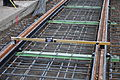 Seattle - laying trolley tracks on Broadway at James 09.jpg