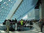 The Seattle Central Library, designed by OMA
