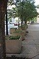 Security planters on 9th Street NW - J Edgar Hoover Building - Washington DC - 2012.jpg