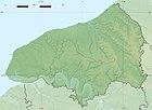 Seine-Maritime department relief location map.jpg