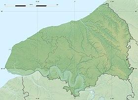 Voir sur la carte topographique de la Seine-Maritime