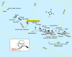 Semisopochnoi Island - Image: Semisopochnoi Map