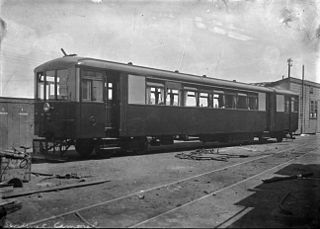 NZR RM class (Sentinel-Cammell) class of 1 New Zealand steam railcar