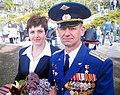 Sergey Ivanovich Chernyavsky with his wife.jpg