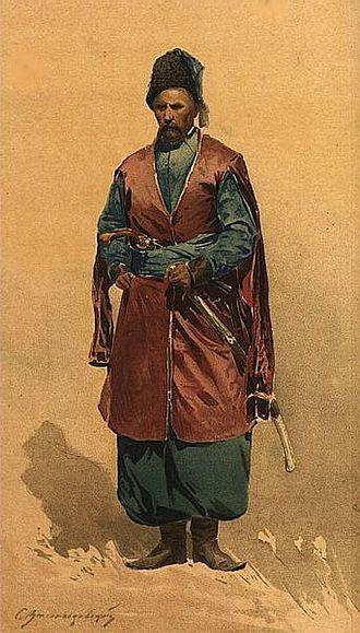 Polkovnik - Cossack Polkovnik of a registered regiment from the left-bank Ukraine