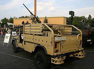 LIV (SO) Serval - A LIV (SO) equipped with a heavy machine gun.
