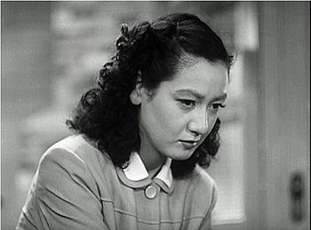 Setsuko Hara in the Japanese motion picture La...