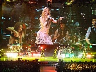 Waka Waka (This Time for Africa) - Image: Shakira 15