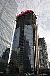 Shangri-La Toronto construction June 2011.jpg