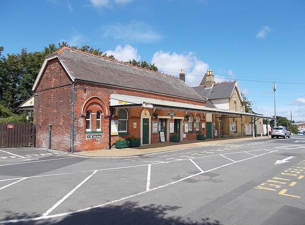Shanklin Railway Station, IW, UK