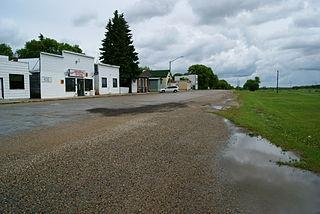 Sheho Village in Saskatchewan, Canada