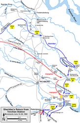 Sheridan's Trevilian Station Raid return
