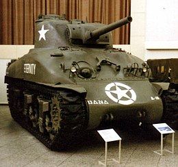 Sherman M4A1 (Late Production Version)