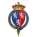 Shield of arms of Edward Herbert, 2nd Earl of Powis, KG.png