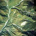 Shinhotaka Ropeway pathway Aerial photograph.1977.jpg