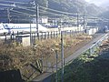 Shinkansen Kannami set-off line & approach way 01.jpg