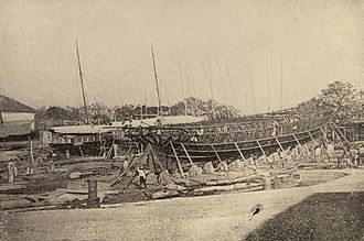 Cavite City - The Spanish shipyards and arsenal in Cavite (1899)