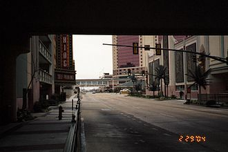 Economy of Shreveport - The riverfront area has become heavily built-up since the coming of riverboat casinos.