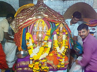 Rajapur, Maharashtra - Image: Shri Aryadurga devi, devihasol, Shri Navadurga devi bhalavali, Rajapur